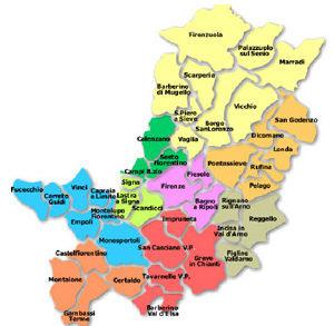 Siamo presenti in tutta la provincia di Firenze